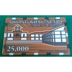 Ficha Casino Hong Kong Star 25.000